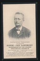 BURGEMEESTER HEURNE - HENRI LANDRIEU   HEURNE 1845   - 1910 - Décès