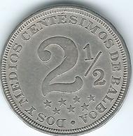 Panama - 2½Centésimos - 1907 - KM7.1 - Panama