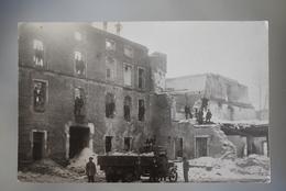 B005 RPPC Rajec Rajetz Demolition Of The Sugar Factory 1927-1928 Truck Animated Rare - Slovaquie