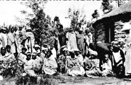 Carte 1950 BASUTOLAND / INFIRMIERE ET SES CLIENTS - Lesotho