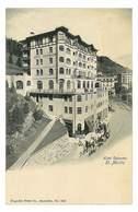 PAS CPA SUISSE ST. MORITZ HOTEL CALONDER DOS PUB DE L'HOTEL - Autres