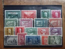 BOSNIA ERZEGOVINA 1915/18 - 7 Serie Complete Timbrate + Spese Postali - Bosnia And Herzegovina