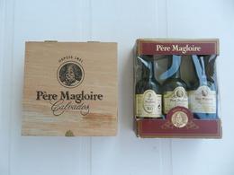 Lot De 6 Mignonnettes Calvados Père Magloire - Miniatures