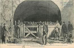 78* VERSAILLES  Prisonniers 1871 (dessin) MA104,1064 - Versailles