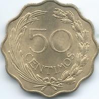 Paraguay - 1953 - 50 Céntimos - KM28 - Paraguay