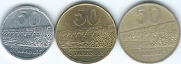 Paraguay - 50 Guaraníes - 1992 (KM191) 1995 (KM191a) & 2012 (KM191b) - Paraguay
