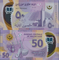Mauritania Pick-number: 22 Uncirculated 2017 50 Ouguiya - Mauritania