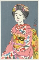 AK  Tokuriki Geisha Japan - Altre Illustrazioni