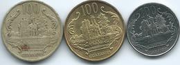 Paraguay - 100 Guaraníes - 1990 (KM177) 1996 (KM177a) & 2012 (KM177b) - Paraguay