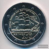 Estonia 2020 Stgl./unzirkuliert Reprint: 750.000 Stgl./unzirkuliert 2020 2 Euro Discovery Antarctica - Estonie
