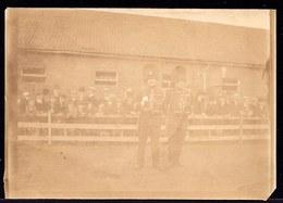 VIEILLE PHOTO ALBUMINE ** LOUVAIN 1907 - GENDARME ? GENDARMERIE ? ARMEE ? LEUVEN - Militaria