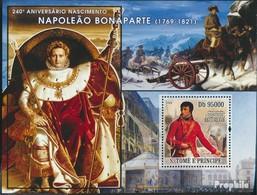 Sao Tome E Principe Block624 (kompl.Ausg.) Postfrisch 2008 Napoleon Bonaparte - Sao Tome En Principe