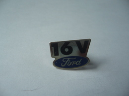 PIN'S PINS 16 V  FORD THÈME  AUTOMOBILE - Ford