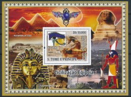 NB - [400749]TB//**/Mnh-Sao Tomé-et-Principe 2009 - Civilisation Egyptienne - Egyptology