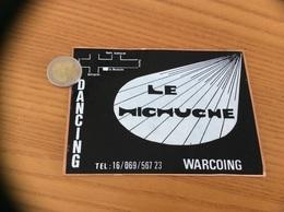 AUTOCOLLANT, Sticker «DANCING LE MICHUCHE - WARCOING (59)» Discothèque - Adesivi