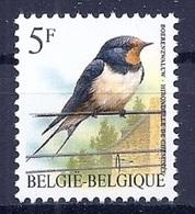 BELGIE * Buzin * Nr 2475 * Postfris Xx * HELDER WIT PAPIER - 1985-.. Oiseaux (Buzin)