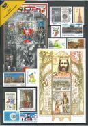 Czech Republic - 2016 - Year Set 2016 - Mint Annual Stamp Set - Tchéquie