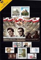 Czech Republic - 2019 - Complete Year Set - Mint Stamps And Souvenir Sheets - Tchéquie