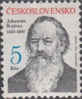 Czechoslovakia 1983, Brahms, Michel 2702 MNH 27175 - Musique
