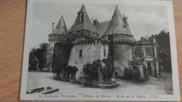 CPA -  Château De Marzac - Bords De La Vézère - Other Municipalities