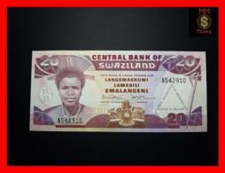 SWAZILAND 20 Emalangeni 1986 P. 17 *COMMEMORATIVE*  UNC - Swasiland
