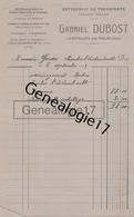 03 0862 MOULINS LES BATAILLOTS ALLIER 1922 Transports GABRIEL DUBOST Camions Automobiles Location De Chevaux - Transports