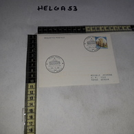 FB0433 BIGLIETTO POSTALE ROMA PRATI UFFICIO MOBILE 1984 BASILICA SAN PIETRO TIMBRO TARGHETTA - Interi Postali