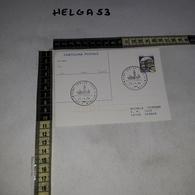 FB0435 CARTOLINA POSTALE ROMA CENTRO UFFICIO MOBILE BASILICA SANTA MARIA MAGGIORE 1984 TIMBRA TARGHETTA - Interi Postali