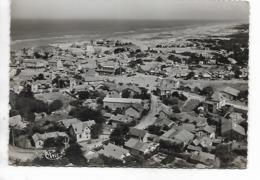 CPSM - FRANCE  ( 33)   -  LACANAU - OCEAN : Vue Aérienne Et L'Océan - Frankreich