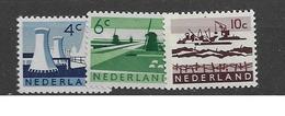 1963 MNH Netherlands, NVPH 792-4 - Neufs