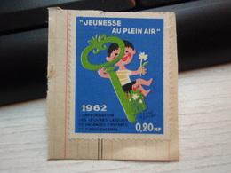 """Vignette  """" Jeunesse En Plein Air """" 1962 - Other"""