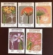 Botswana 1977 Christmas Flowers MNH - Végétaux