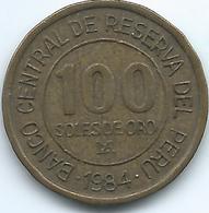 Peru - 100 Soles De Oro - 1984 - Admiral Grau - KM288 - Perú