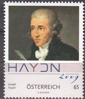 Austria 2009 Joseph Haydn   Michel 2799  MNH 27149 - Musique