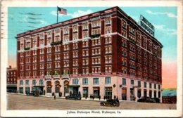 Iowa Dubuque Julien Dubuque Hotel 1928 - Dubuque