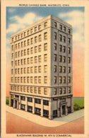 Iowa Waterloo Peoples Savings Bank Blackhawk Building - Waterloo