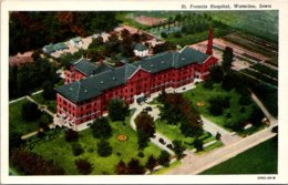 Iowa Waterloo St Francis Hospital Curteich - Waterloo