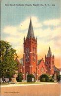 North Carolina Fayetteville Hay Street Methodist Church 1956 - Fayetteville
