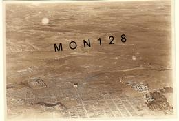 ALGERIE - TIMGAD 1917 - PHOTO AERIENNE CITE ANTIQUE ROMAINE  - 16,5x11,5 Cms - Places
