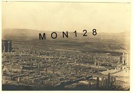 ALGERIE - TIMGAD 1917 - PHOTO AERIENNE CITE ANTIQUE ROMAINE  - 16x11 Cms - Places