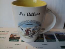 MUG LES AILLONS SPORTS D HIVER. SAVOIE - Cups