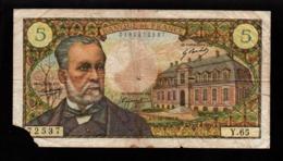 France - 1 Billet De 5 Francs - E . 07 12 1967 . E (verso Voir Scan) - 1962-1997 ''Francs''