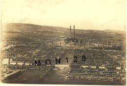 ALGERIE - TIMGAD 1917 - PHOTO AERIENNE CITE ANTIQUE ROMAINE  - 17x11,5 Cms - Places