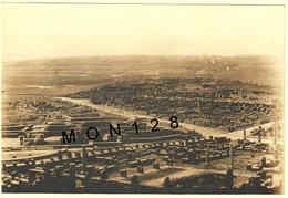 ALGERIE - TIMGAD 1917 - PHOTO AERIENNE CITE ANTIQUE ROMAINE  - 16,5x11 Cms - Places