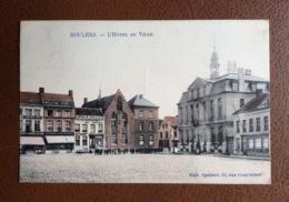 Roulers - L'Hôtel,de Ville - Geanimeerd - Phototypie Marco Marcovici - 1913 Rupelmonde Roeselare Deprest - Roeselare