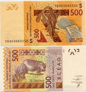 WEST AFRICAN STATES   S: Guinea Bissau        500 Francs       P-919S[d]       2003 - (20)16       UNC - Westafrikanischer Staaten