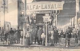 PARIS-75011-66 AVENUE PARMENTIER- STE DES ECREMEURS ALFA LAVAL - CONCOURS AGRICOLE A PARIS MARS 1908 - District 11