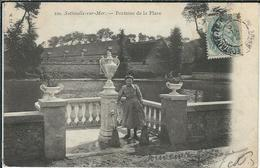 SEINE-MARITIME : Sotteville Sur Mer, Fontaine De La Place - Sonstige Gemeinden