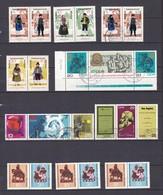 DDR  - Zusammendrucke - Sammlung - Postfrisch/Gest. - DDR
