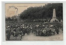 35 RENNES LE MARCHE AUX BESTIAUX N° 1080 EDIT MARY ROUSSELIERE - Rennes